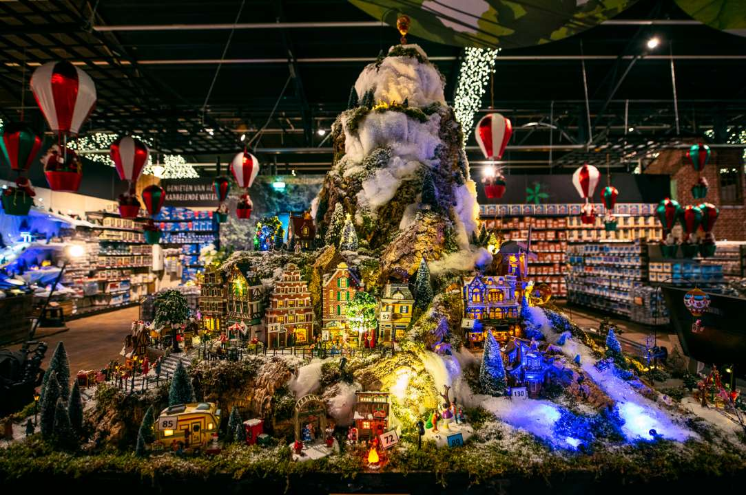 Opening Kerstshow 2019 - Activiteiten - Tuincentrum Leurs