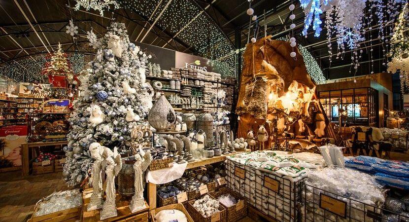 Weihnachtsdekoration_Gartencenter Leurs