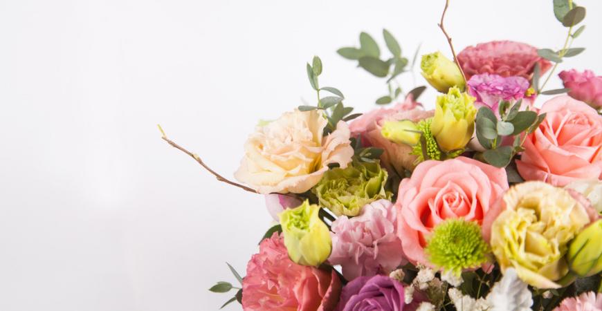 Zijden bloemen en planten_Tuincentrum Leurs
