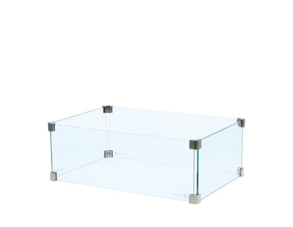 Cosi rectangular glass set